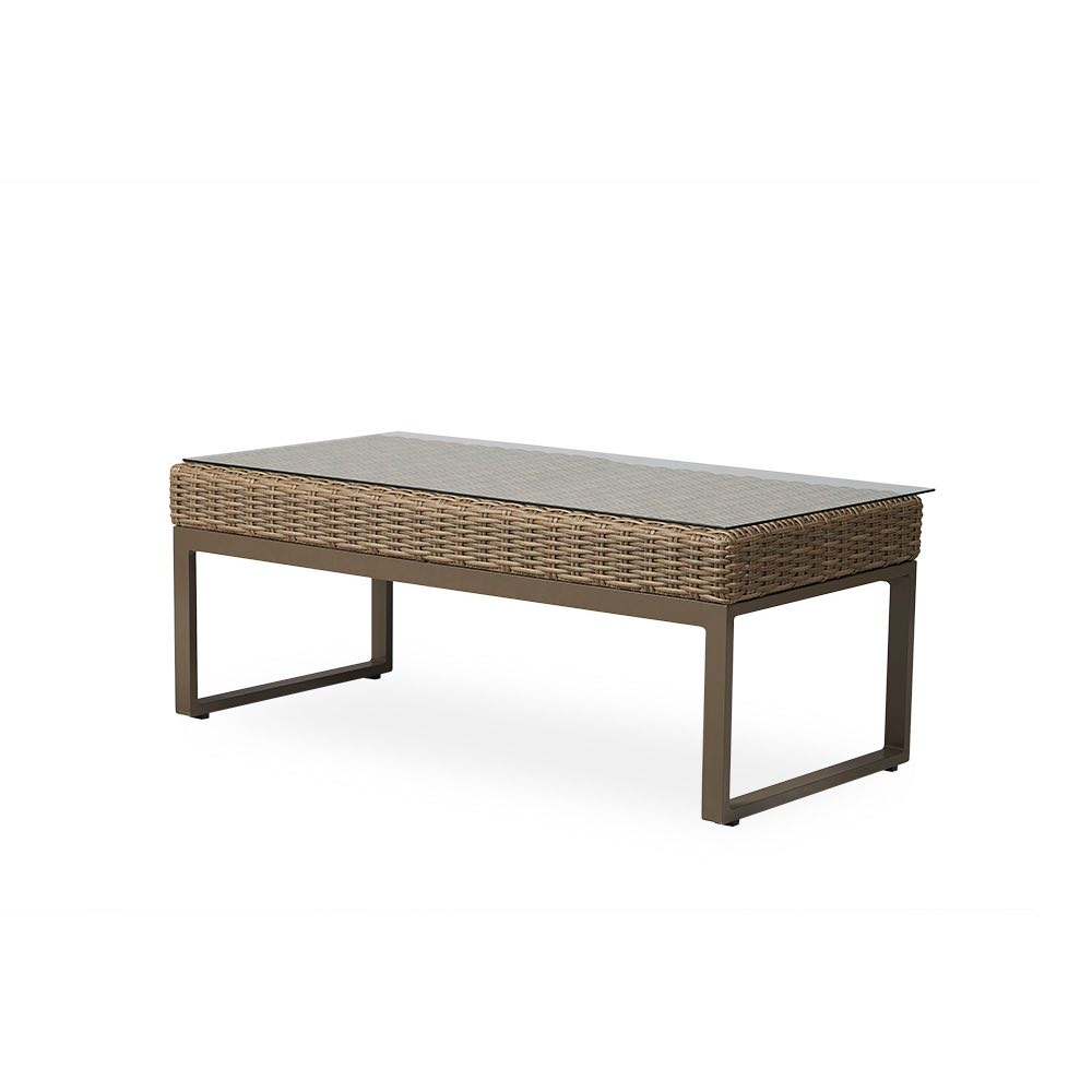 Lloyd Flanders Milan Outdoor Wicker Cocktail Table