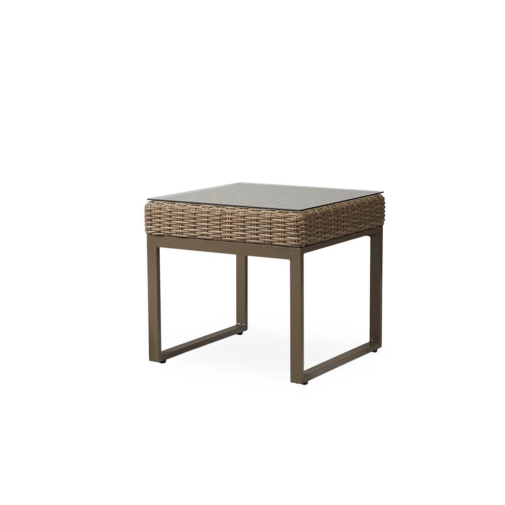 Lloyd Flanders Milan Outdoor Wicker End Table