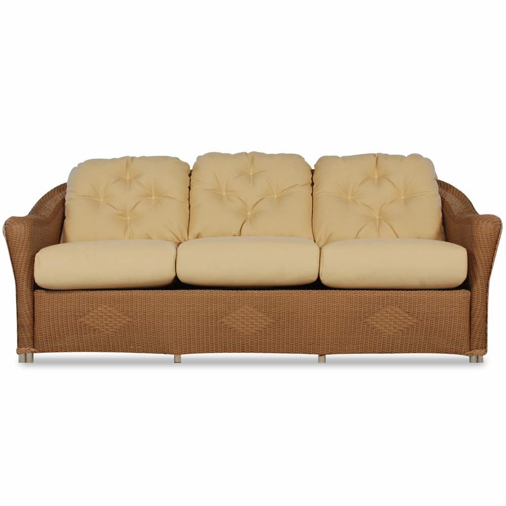 Lloyd Flanders Reflections Wicker Patio Sofa
