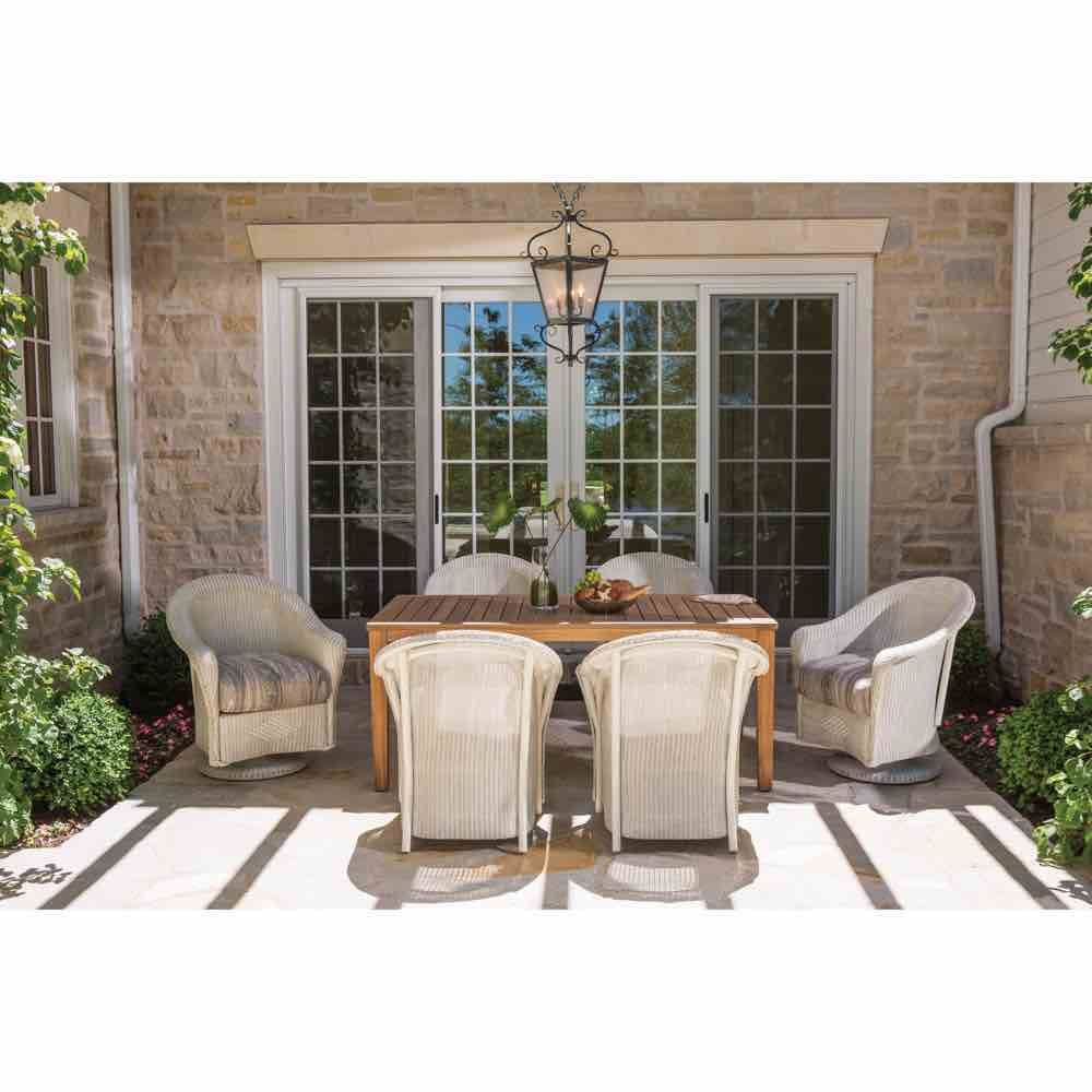 Lloyd Flanders Reflections Dining Table & Chairs