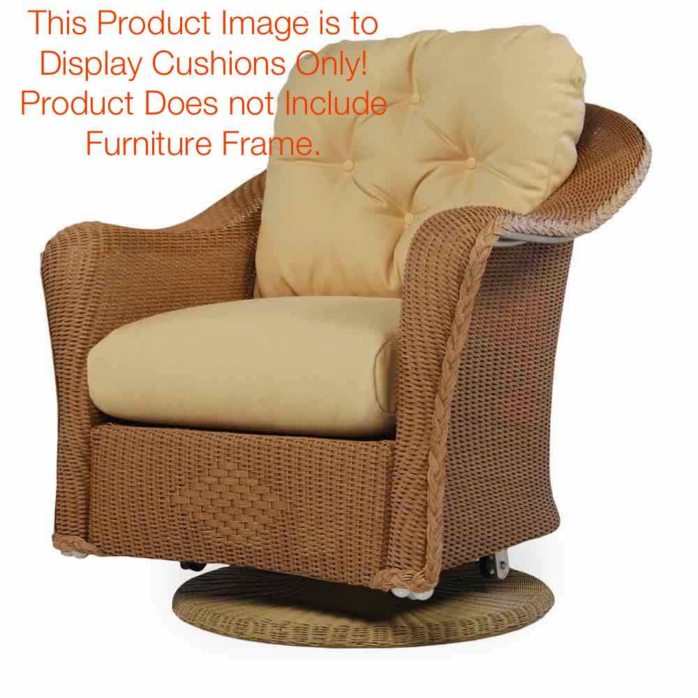 Lloyd Flanders Reflections Swivel Glider Replacement Cushions