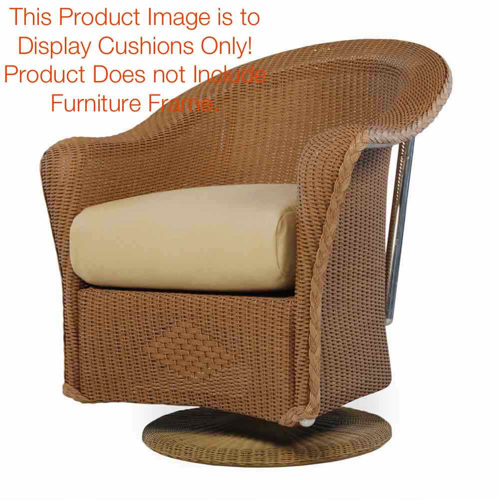 Lloyd Flanders Reflections Swivel Dining Armchair Seat Cushion