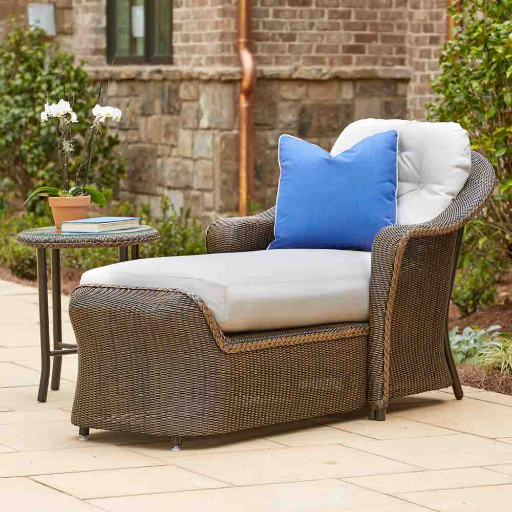 Chaise Lounge | Outdoor Wicker | Reflections