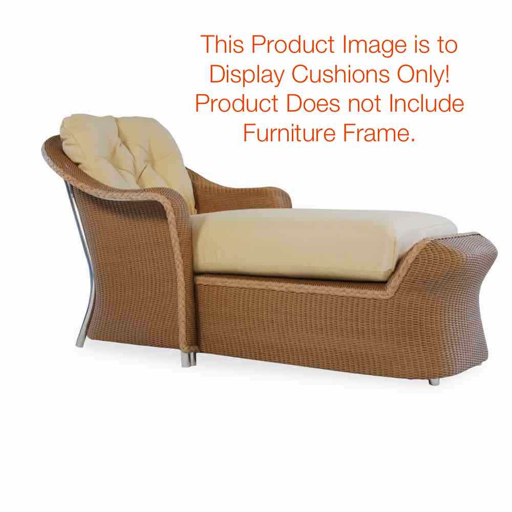 Lloyd Flanders Reflections Day Chaise Cushions