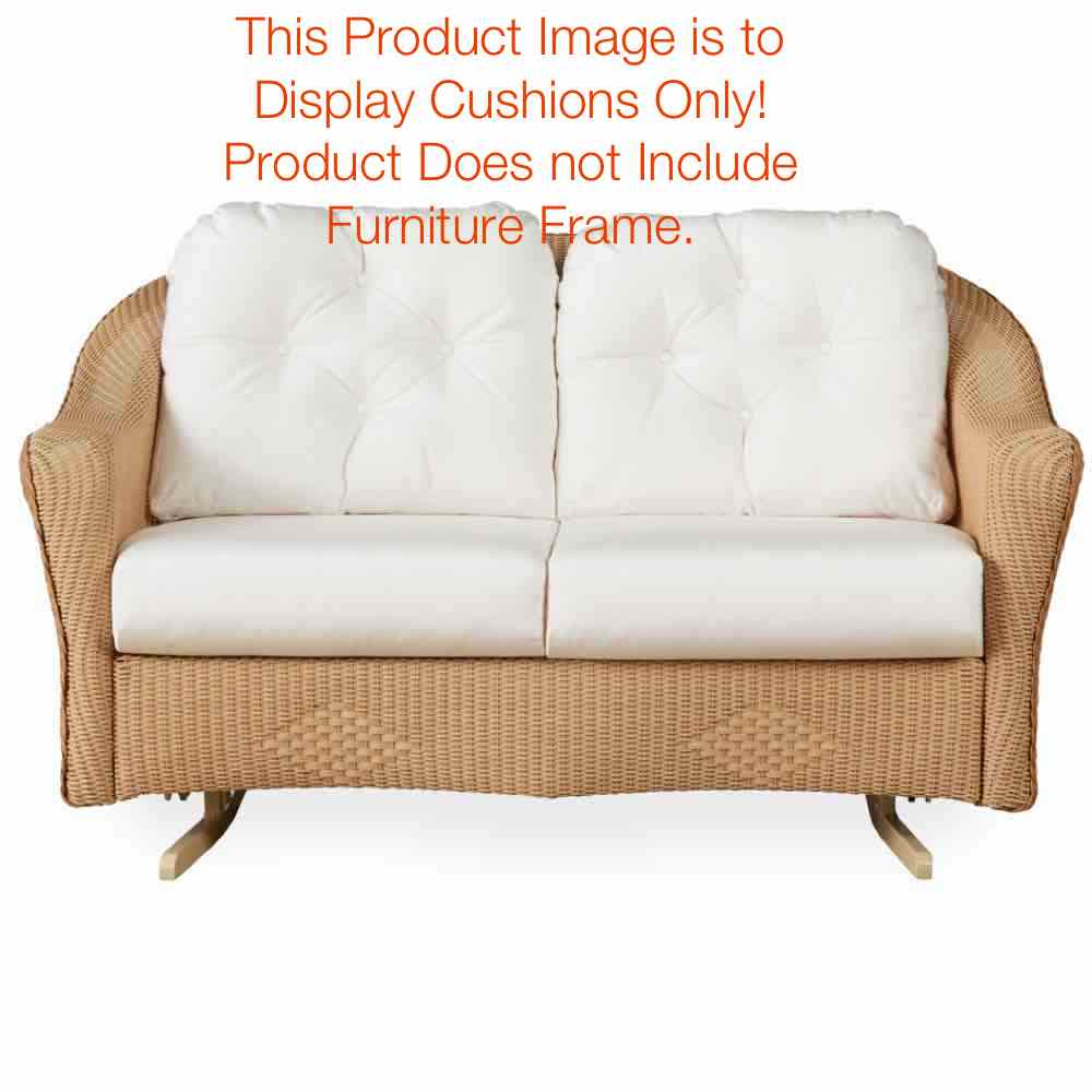 Lloyd Flanders Reflections Loveseat Glider Replacement Cushions