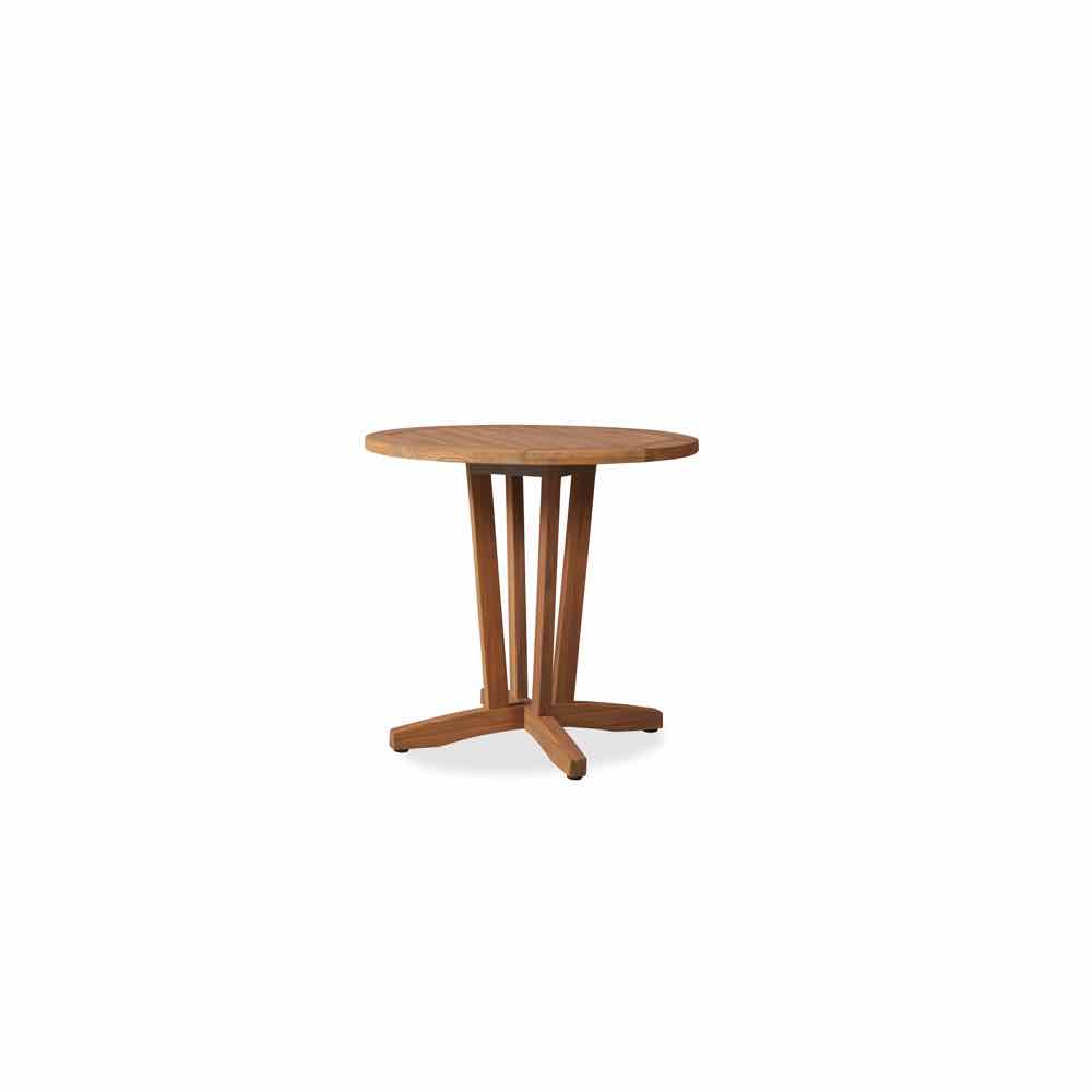 Lloyd Flanders Teak 30 Inch Bistro Table