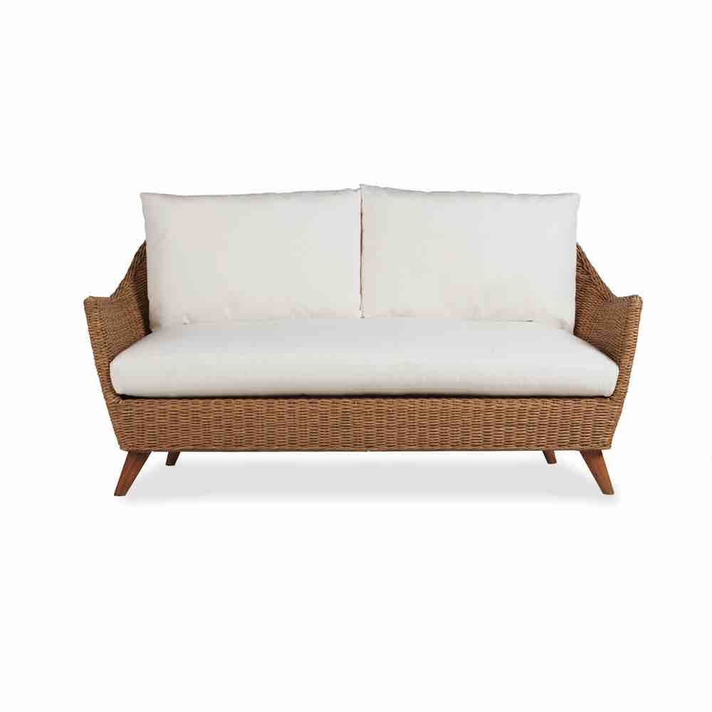 Lloyd Flanders Tobago Outdoor Wicker Loveseat