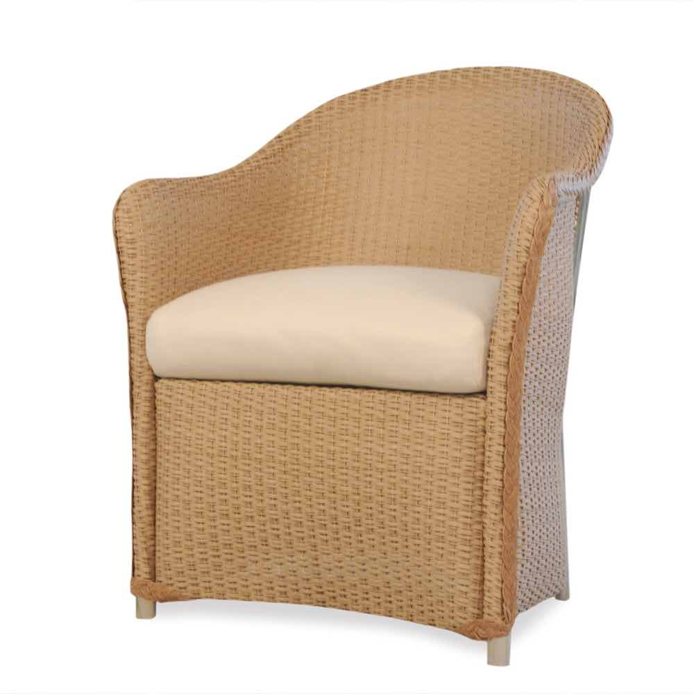 Lloyd Flanders Weekend Retreat Outdoor Wicker Dining Chair