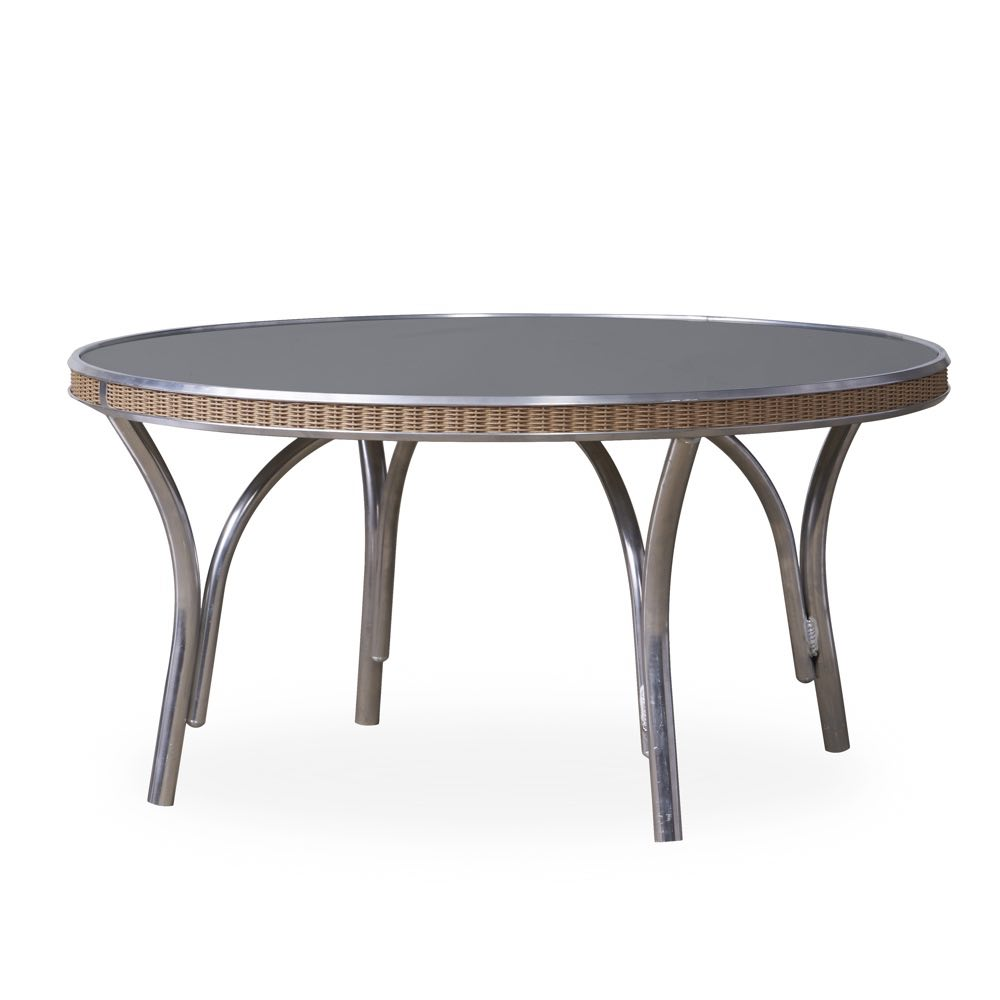 Lloyd Flanders Outdoor Round Outdoor Wicker Cocktail Table