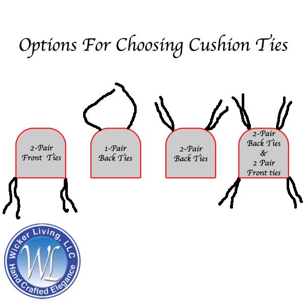 Cushion Tie Layout Options