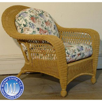 Charleston Resin Wicker Club Chair