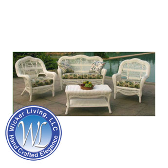 Nantucket Wicker Outdoor Chair