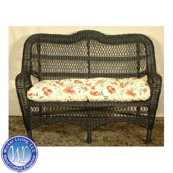 Nantucket All-Weather Wicker Love Seat