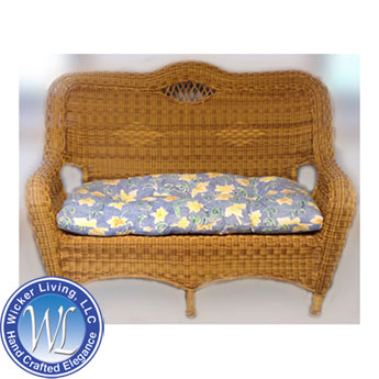 Resin Wicker Love Seat