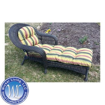 Charleston Resin Wicker Chaise Lounge