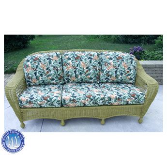 Sea Grass Green Charleston Sofa
