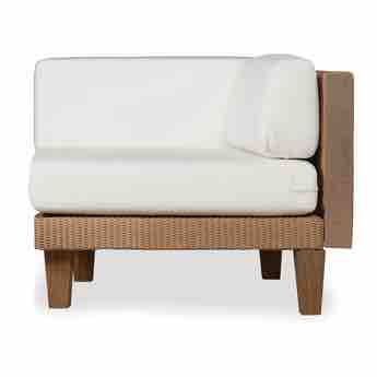 Lloyd Flanders Catalina Corner Sectional Lounge Chair