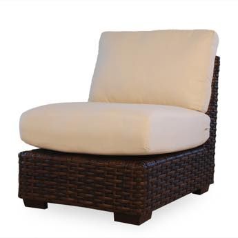 Lloyd Loom Contempo Outdoor Wicker Armless Sectional