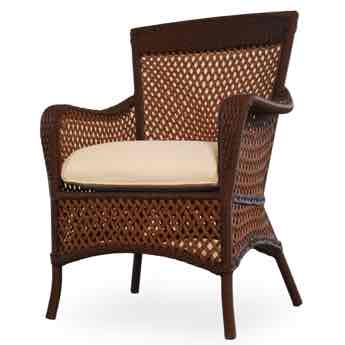 Close Up of Lloyd Flanders Grand Traverse Outdoor Wicker Weave
