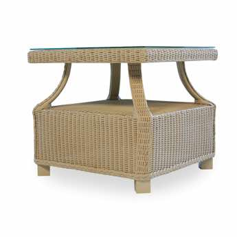 "Lloyd Flanders 22"" Square End Table"