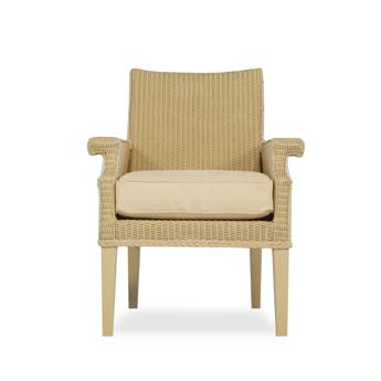 Lloyd Flanders Hamptons Wicker Dining Arm Chair
