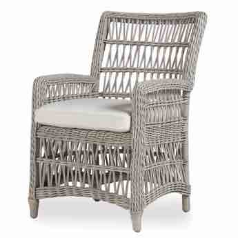 Lloyd Flanders Mackinac Wicker Dining Chair