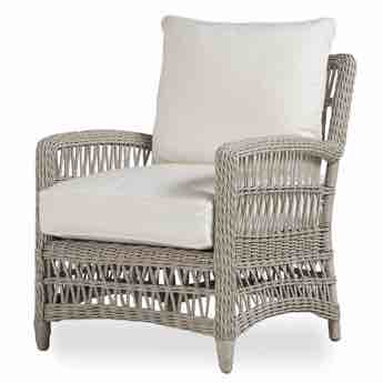 Lloyd Flanders Mackinac Outdoor Wicker Lounge Chair