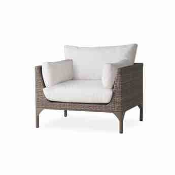 Lloyd Flanders Martinique Outdoor Wicker Lounge Chair