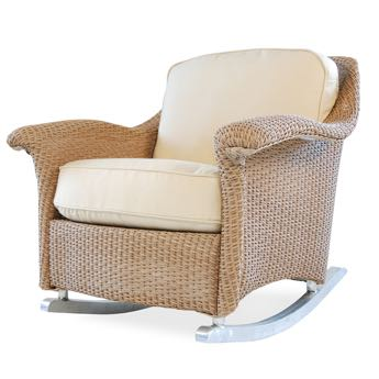 Lloyd Flanders Oxford Wicker Lounge Rocker