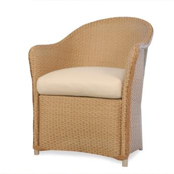 Lloyd Flanders Weekend Retreat Wicker Dining Chair