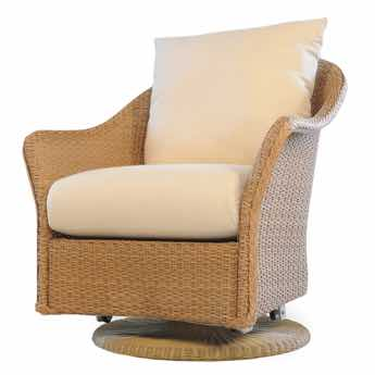 Lloyd Flanders-Weekend Retreat Wicker Swivel Glider Mini Random Weave